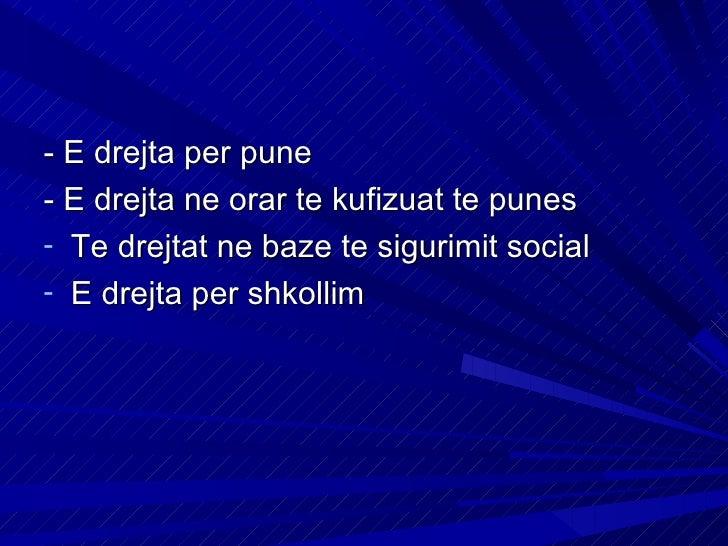Te drejtat tjera kushtetueseE drejta e shtetesiseE drejta e trashigimiseMbrojtja e nenes dhe efemijesFamilja dhe martesaPl...
