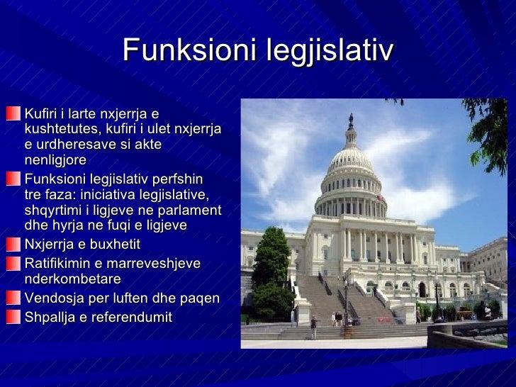 Funksioni zgjedhorZgjedhjen dhe shkarkimin e: shefit te shtetit te qeverise apo anetareve te sajte eproreve te organeve dh...