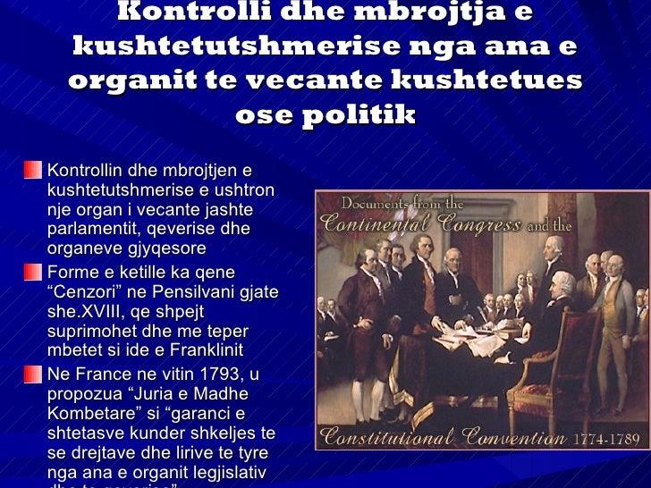 Me kushtetuten e vitit1852 Senati (80 anetare)si organ politik ushtrontekete funksionEdhe kushtetuta eFrances e vitit 1958...