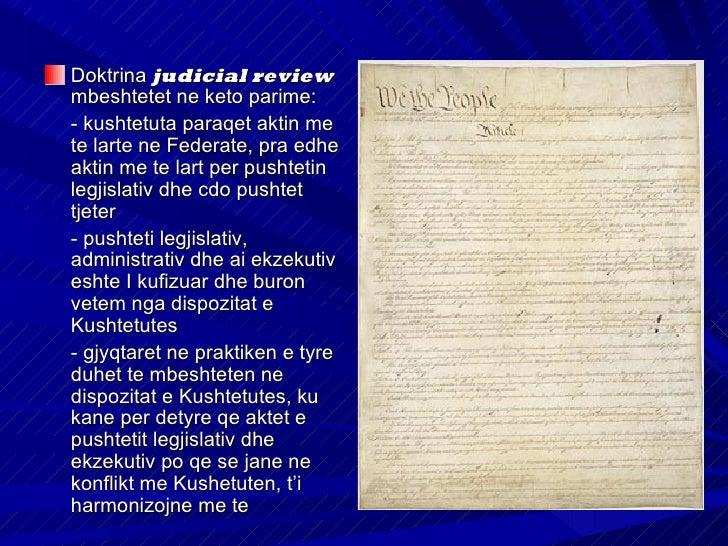Sistemi gjyqesor ne          SHBAGjykatat FederativeGjykatat e njesive federale(States Courts)Me ligjin mbi judikaturen (T...