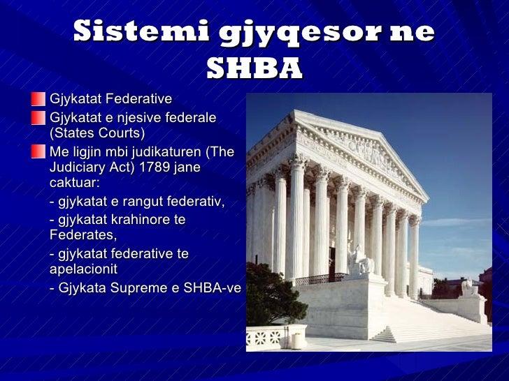 Gjykata Supremeperbehet prej nentegjyqtareveAjo shqyrton edheceshtjet kontestuese siceshtje politike, siq janekontesti mid...