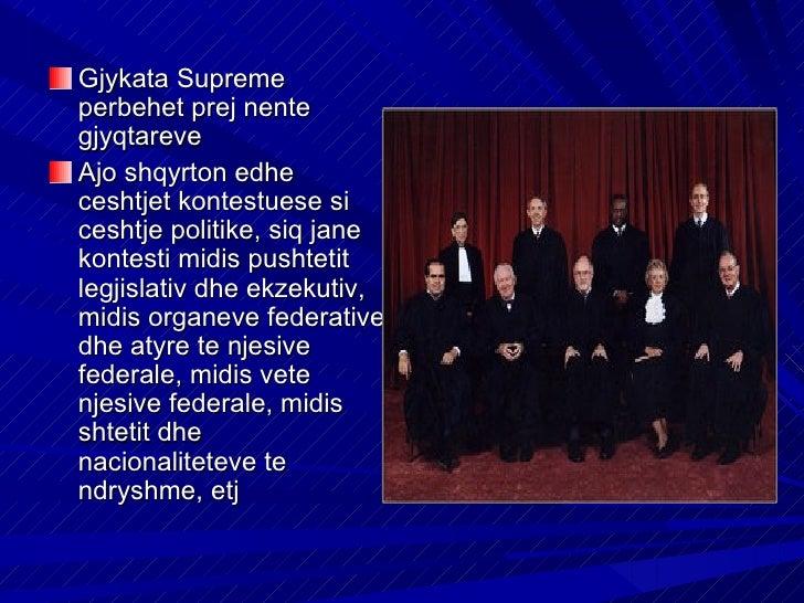 Nepermjet doktrinesJudicial review kjogjykate i ka dhene veteste drejte te vleresoj edhepershtatshmerine eamendamentevekus...