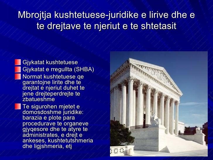 Klasifikimi i lirive dhe te     drejtave te njeriutLirite dhe te drejtatpersonaleLirite dhe te drejtatpolitikeLirite dhe t...