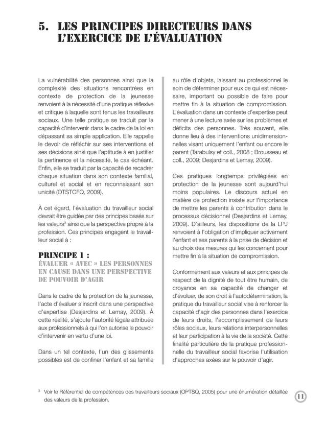Le développement du pouvoir d'agir                             • De faire preuve de transparence envers     (empowerment)4...