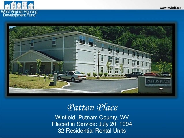Patton Place Apartments Winfield Wv