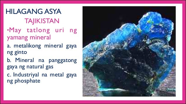 Yamang Mineral