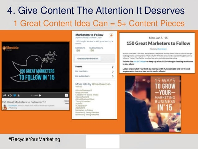Webinar: How to Repurpose Social Content to Save Time & Maximize Leads Slide 23