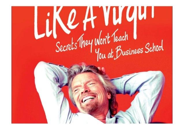 Richard Branson Like A Virgin Ebook