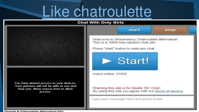 like chatroulette