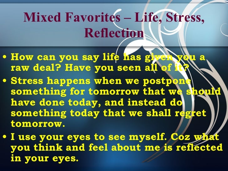 Liked Quotes From An Unlikely Source Impressive Life Stress Quotes