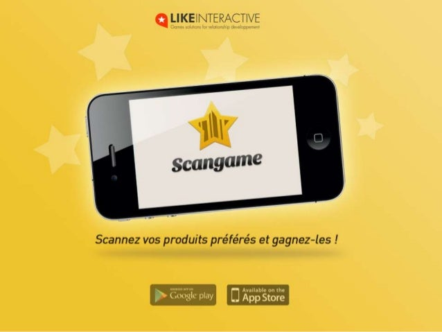 Un trésor d'applicationScanGame est une application mobile dechasse au trésor pour les magasins.Grâce à ScanGame, vous pro...