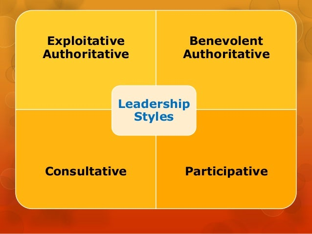 likert theory of leadership