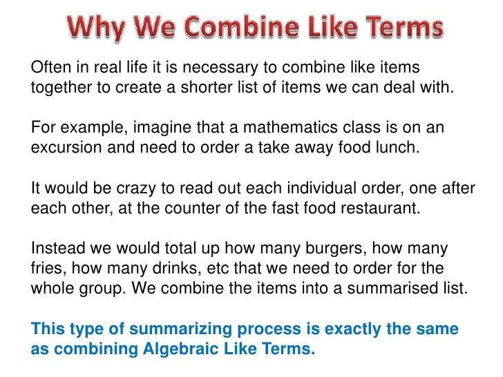 All Worksheets Combine Like Terms Worksheets Free Printable – Combining Like Terms with Exponents Worksheet