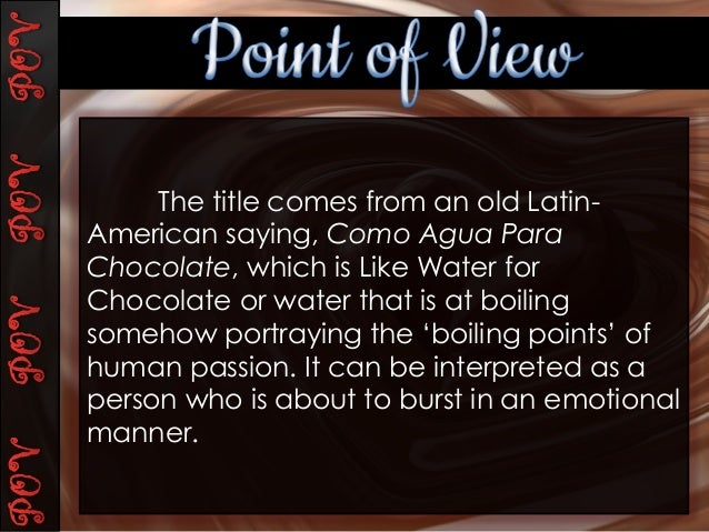 Like water for chocolate feminsim