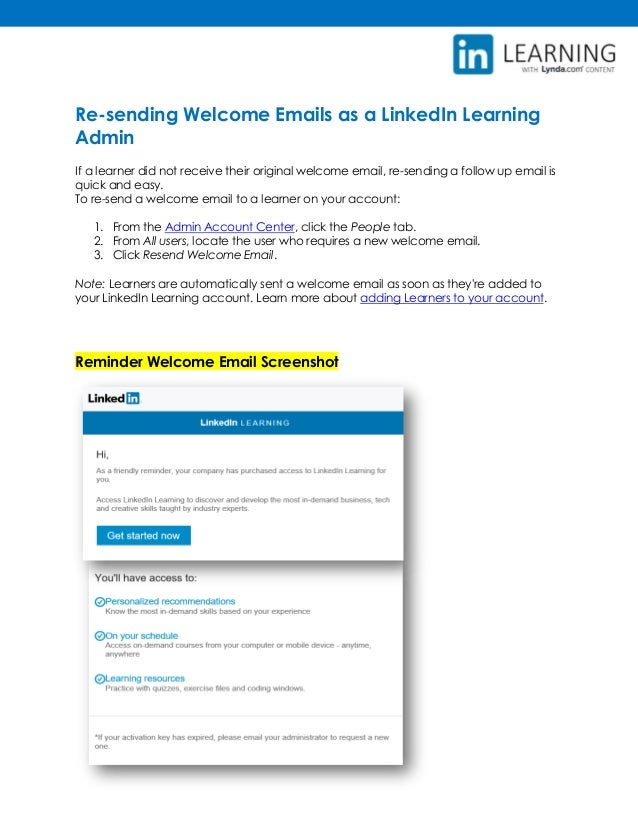 Getting Started as an Administrator in LinkedIn Learning