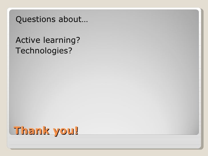 Instructional Design for the Active: Employing Interactive Technologies and Active Learning Exercises to Enhance Library...