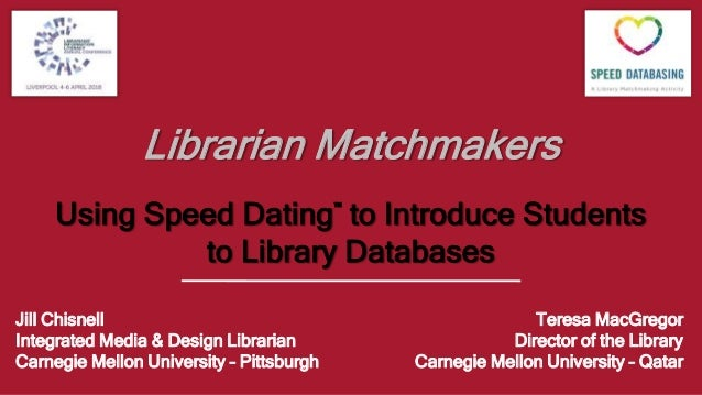 Sheffield library speed dating