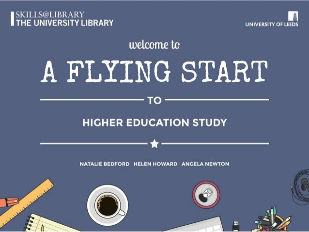 • Flying start to…. • Referencing • Managing your time in semester 1 • Making the most of Lectures • 30 minute workshops •...