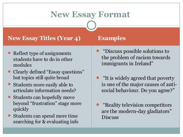 comparing racism essays