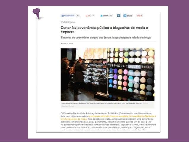 Blog de Moda, parceiros ou vilões?