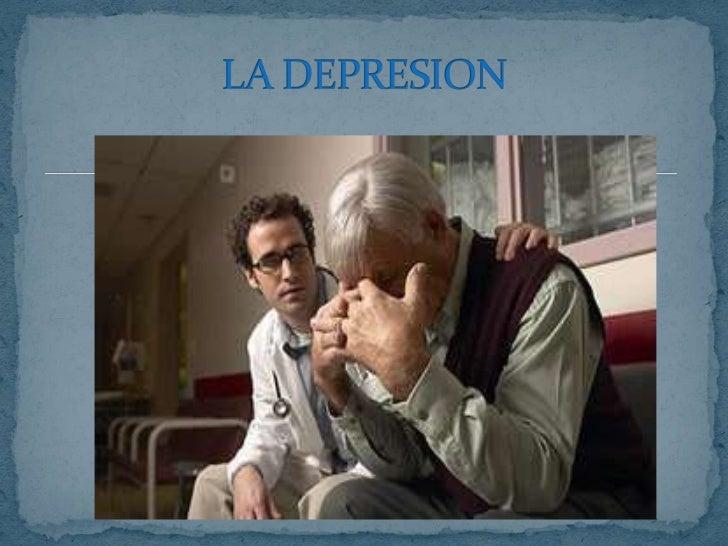 LA DEPRESION<br />