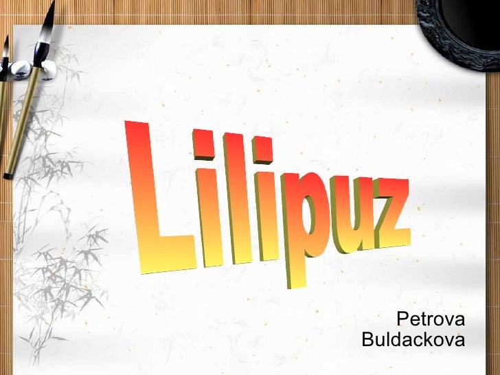 Petrova Buldackova Lilipuz