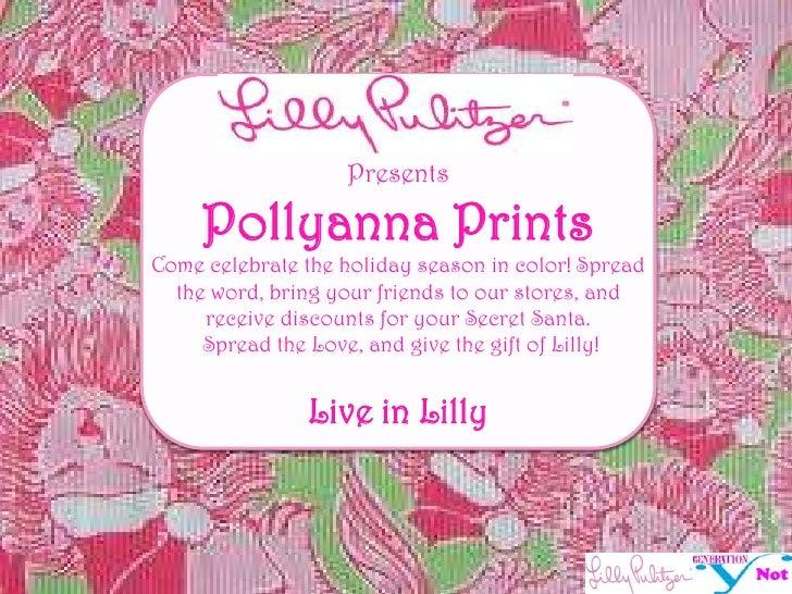lilly pulitzer organization plan