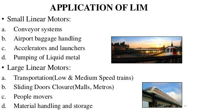 applications of linear induction motor pdf 28 images On application of linear induction motor