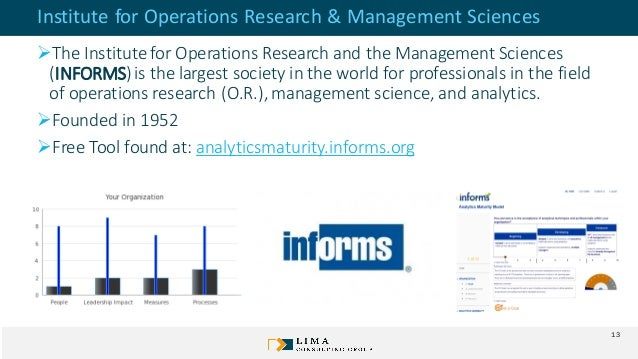 Institute for Operations Research & Management Sciences ➢The Institutefor Operations Research and the Management Sciences ...