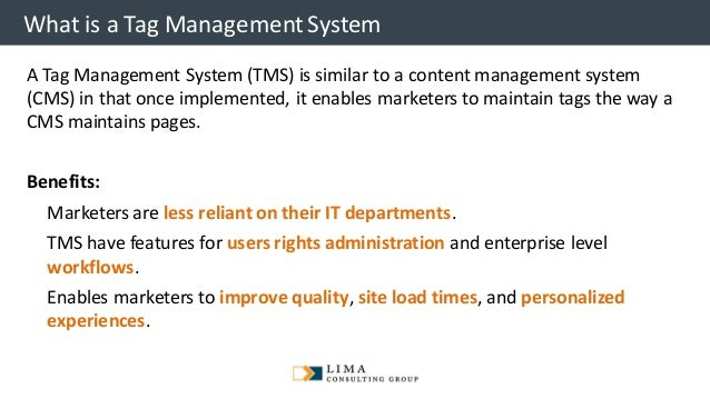 © 2013 Adobe Systems Incorporated. All Rights Reserved. Adobe Confidential. What is a Tag ManagementSystem A Tag Managemen...