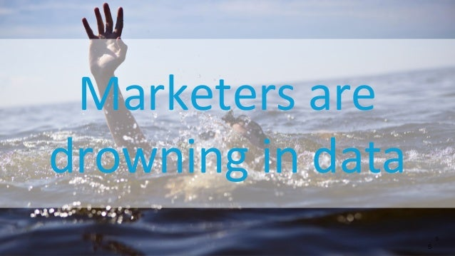 © 2013 Adobe Systems Incorporated. All Rights Reserved. Adobe Confidential. Marketers are drowning in data 5 5
