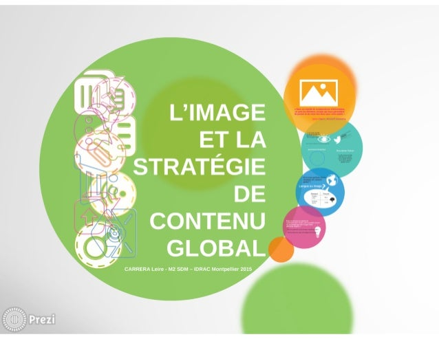 L'image et la strategie de contenu visuel thèse