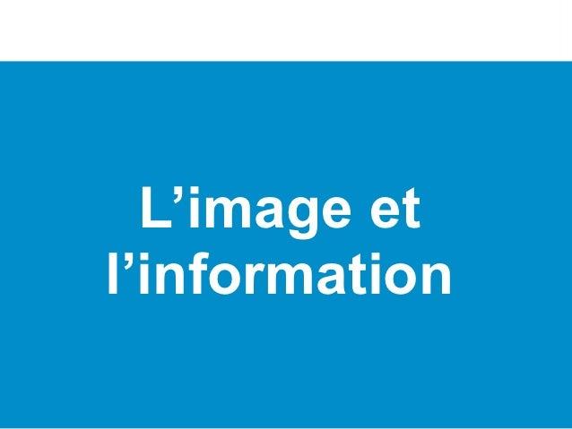 L'image etl'information