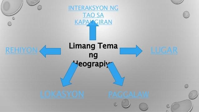 heograpiya kahulugan