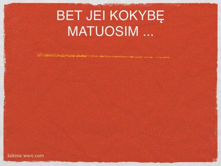 BET JEI KOKYBĘ                          MATUOSIM ...                                  interakcijos kaina, Lt   5 LTL      ...