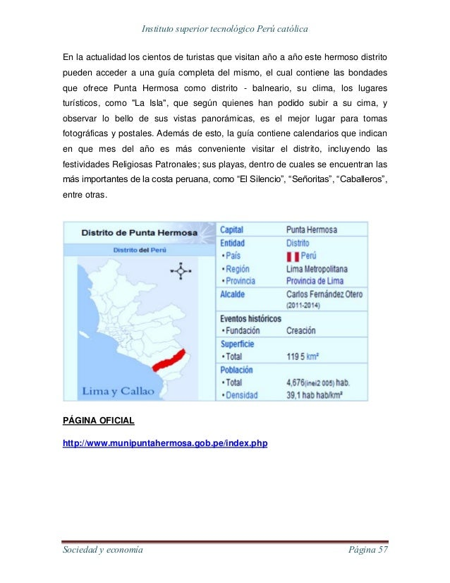 Lima y sus distritos