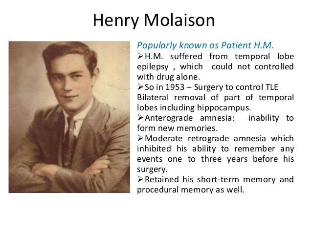 Henry molaison study