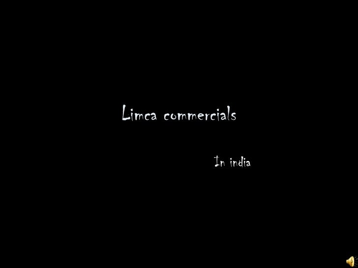 Limca commercials In india