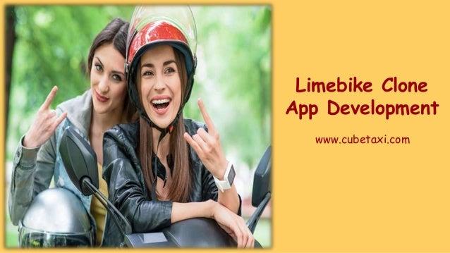 Limebike Clone App Development www.cubetaxi.com