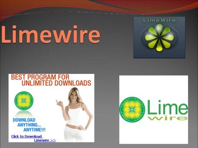 LimeWire is a free peer-to-peer file sharing (P2P) client program that runs on Windows, Mac OS X, Linux, and other operat...