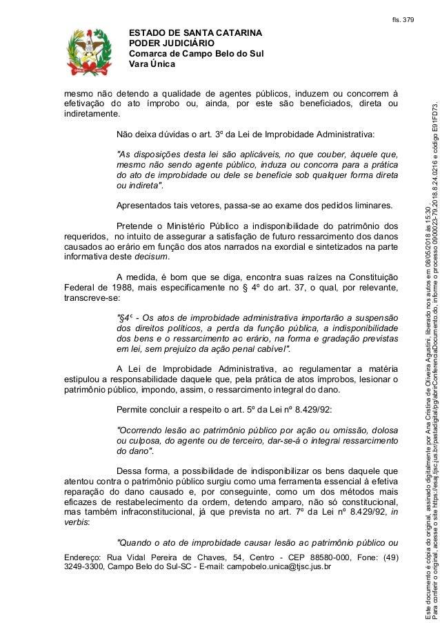 liminar capao alto39634 Artigo 8 Da Constituicao Federal #19