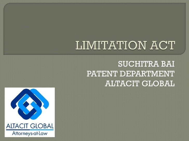 SUCHITRA BAI PATENT DEPARTMENT ALTACIT GLOBAL