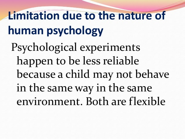 animal behaviours and reactions applied to human psychology Comparative psychology is the study of animal behavior these studies can lead to a deeper and broader understanding of human psychology.