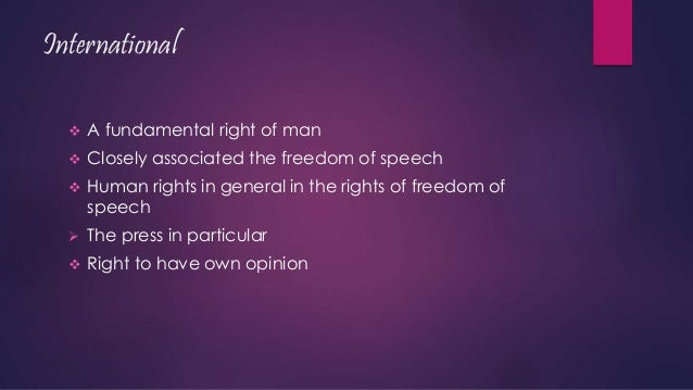 freedom and limitations In the us constitution, the first amendment addresses one's right to freedom of  speech and expression, but it is clear that the degree of.