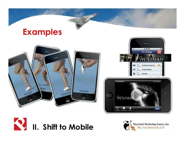 II. Shift to Mobile Examples