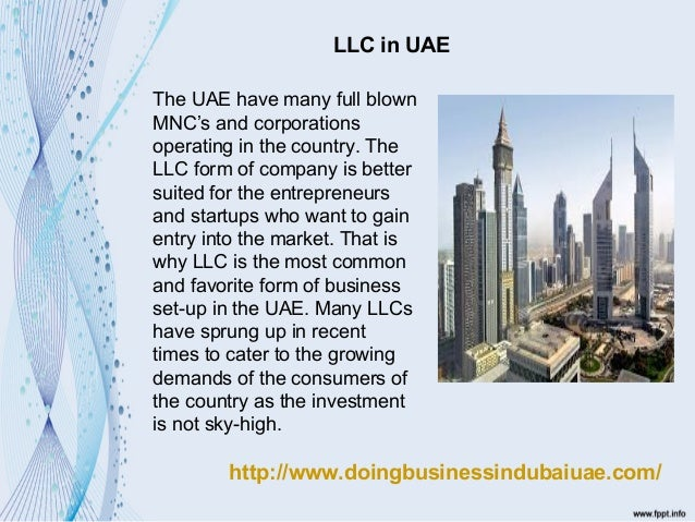 Setting Up A Limited Liability Company In Uae with Government Regula…