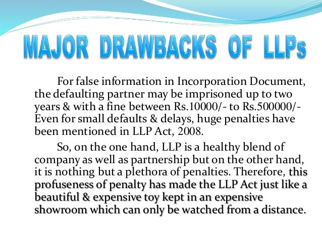 limited liability partnership llp essay Limited liability partnership (llp) is a new corporate form to provide an  llp is  a good hybrid of partnership and company which enables  related essays.