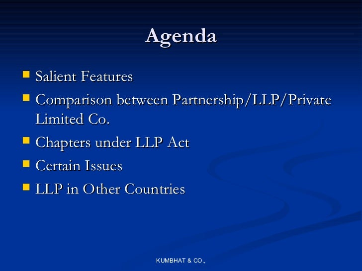 what is limited liability act