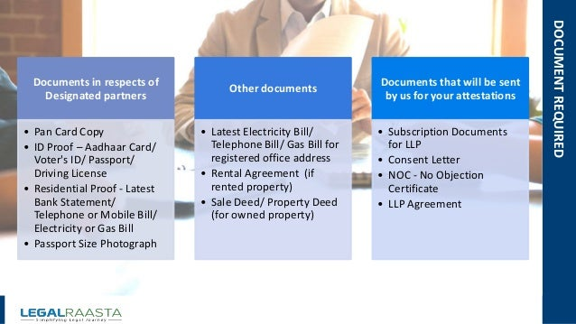 Limited Liability Partnership In India By Legalraasta