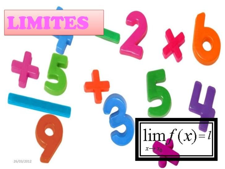 LIMITESLIMITES26/03/2012